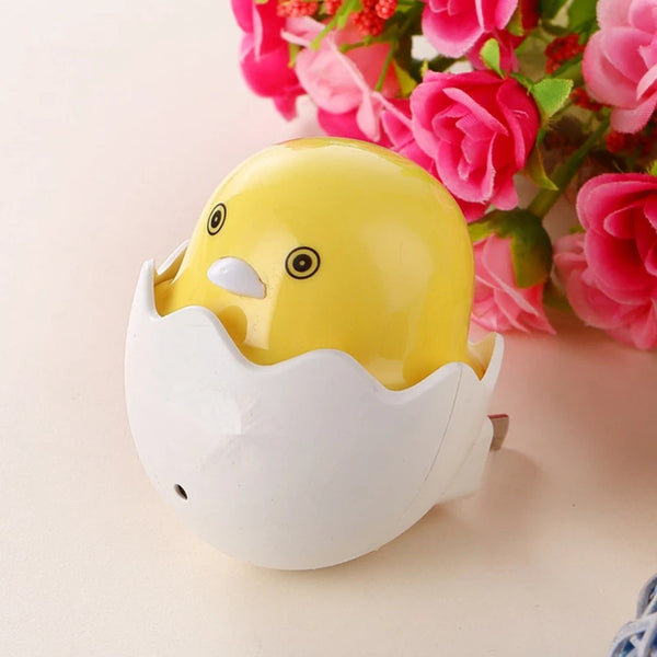 Popular Nightlight Cute Mini Yellow Duck Sensor Lamp - ShopnHob (3619748544592)