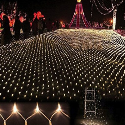 Web Fairy Outdoor Party Net Lights 6 x 9 feet