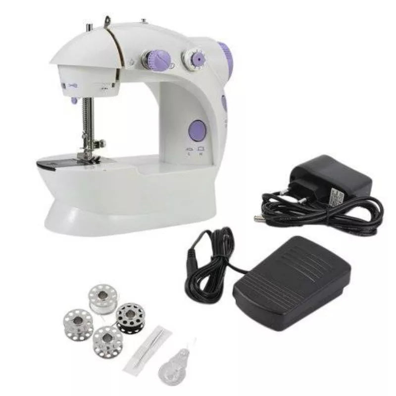 Multifunction Electric Mini Sewing Machine Motor Household Desktop With Built-in Sewing Light   Foot Pedal Sewing Parts Machines - ShopnHob (3601019011152)