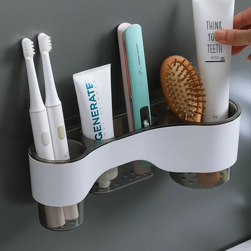 New Self Adhesive Wall Mounted Drain Rack Auto Stickness for Kitchen and Bathroom