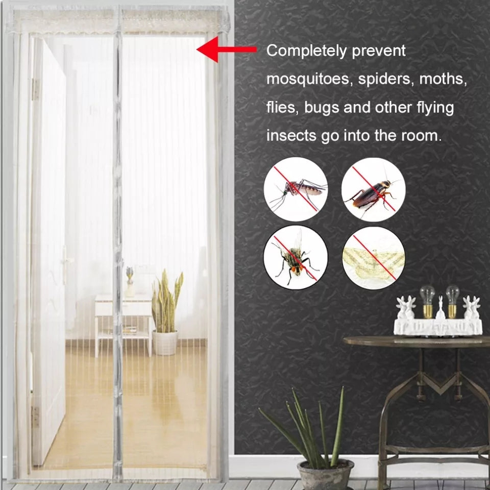 Anti Mosquito Insect Fly Bug Curtains Magnetic Net Automatic Closing Door Screen Kitchen Curtain
