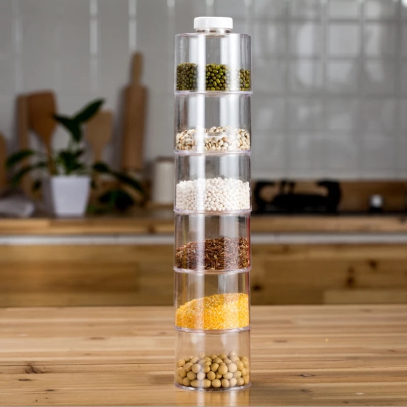 6 Racks Spice Tower for Kitchen and Dining - ShopnHob