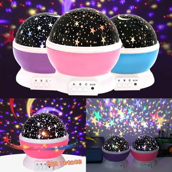 Stars Starry Sky LED Night Light Projector - ShopnHob (3546389381200)
