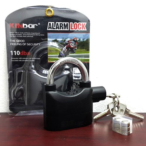 Waterproof Siren Alarm Padlock Alarm Lock for Motorcycle Long Beam Bike Bicycle