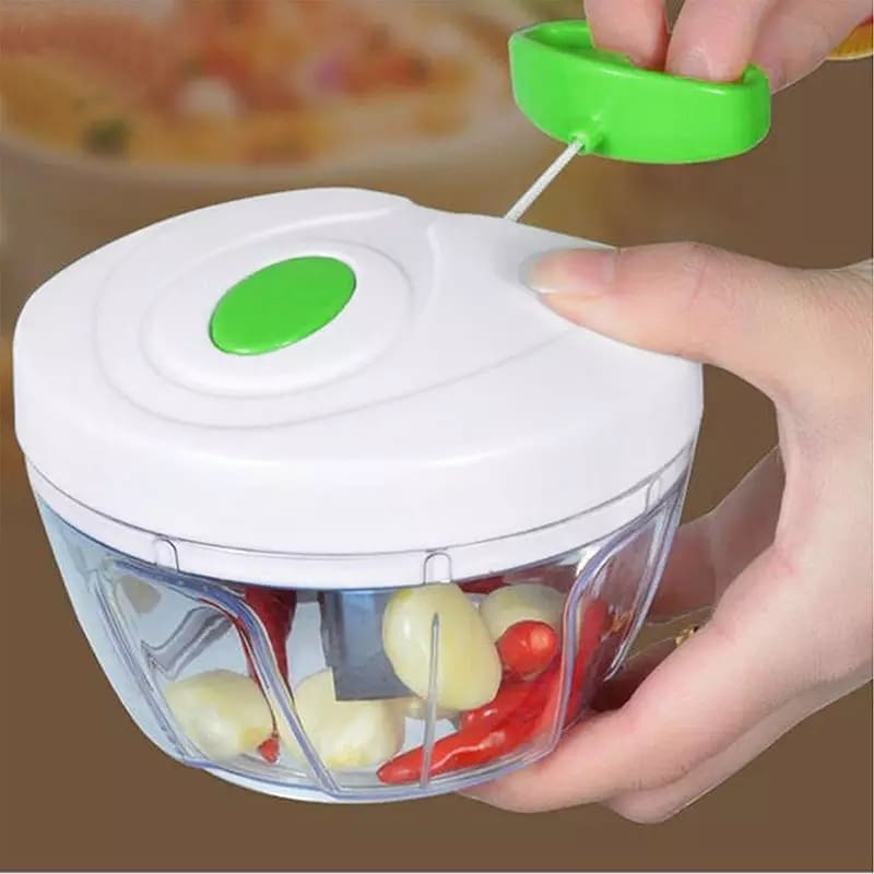 Manual Speedy Chopper Stainless Steel Home Kitchen Fruit Vegetable Nuts Herbs Garlic Chopper Mincer Food Processors