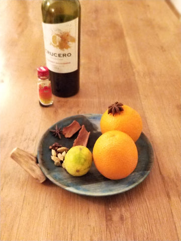 mulled wine ingridients
