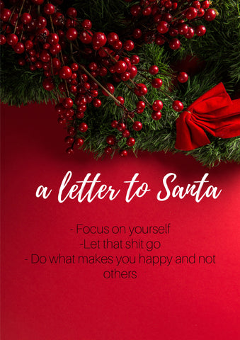 christmas new year resolution letter to santa