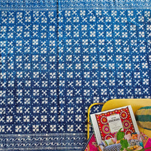 Load image into Gallery viewer, indigo cotton rug