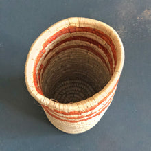 Load image into Gallery viewer, Brown and Natural Sabai Vase