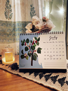 The Botanist's Desk Calendar 2021