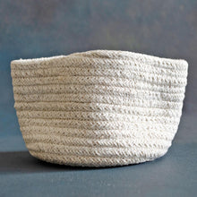 Load image into Gallery viewer, white cotton basket