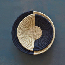 Load image into Gallery viewer, Kala Half n Half Sabai Seagrass Handwoven Grass Basket