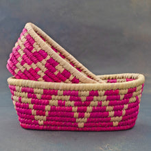Load image into Gallery viewer, Pink Sabai Bread Basket Shop Online Free Shipping