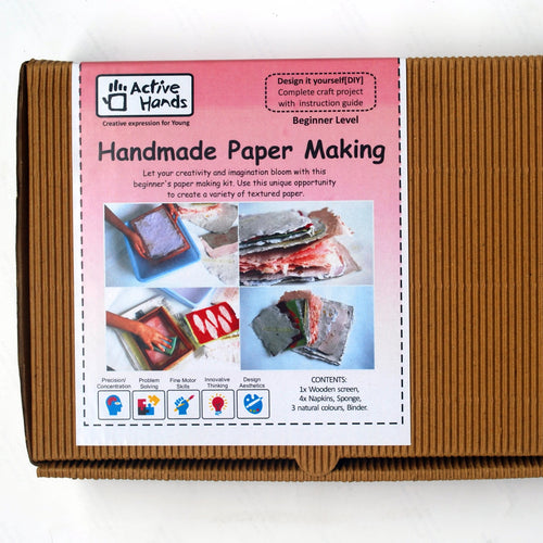 Handmade Paper Making DIY Kit