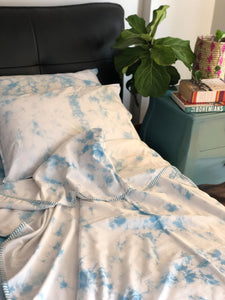 Sky Tie Dye Double Bed Dohar