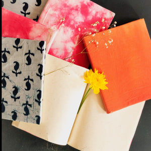 Assorted Handmade Paper Notebooks