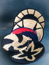 Load image into Gallery viewer, Monochrome Assorted Set of Handwoven Sabai Baskets