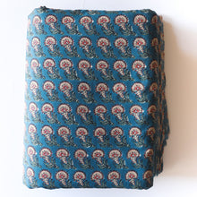 Load image into Gallery viewer, blue paisley fabric