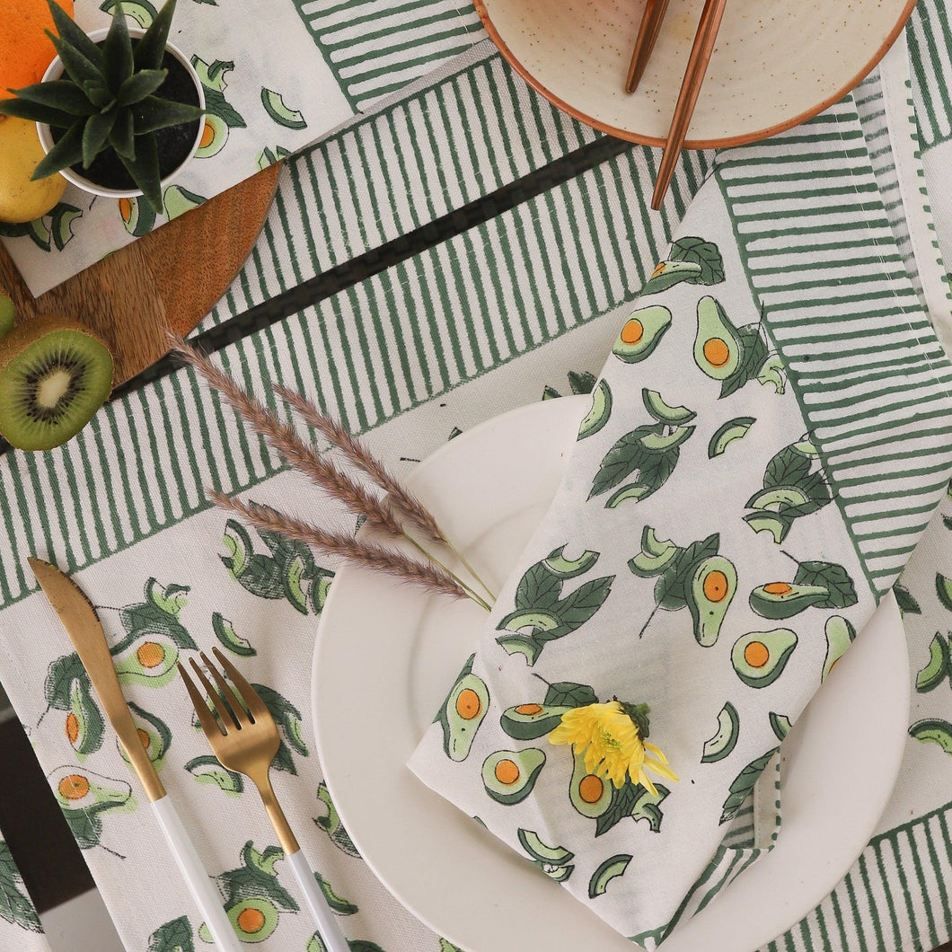 avocado placemats