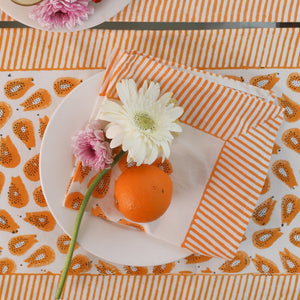 papaya placemats