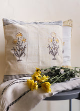Load image into Gallery viewer, Dopahar it was all yellow cushion cover