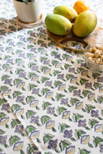 Load image into Gallery viewer, Udaipur Buti Blockprint Table Cloth