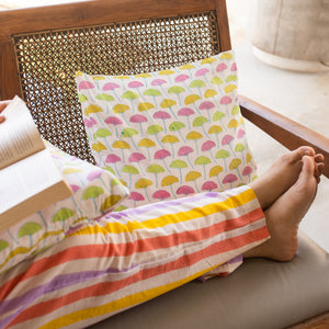 HELLO Word Pillow by Kari by Kriti