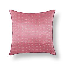 Load image into Gallery viewer, Baby Pink Bandhni Mashru Silk Cushion Cover