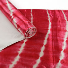 Load image into Gallery viewer, Pink Tie Dye Mashru Silk Table Runner