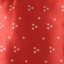 Load image into Gallery viewer, Red Bandhni Mashru Silk Cushion Cover