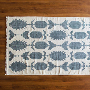 Funky Pineapple Cotton Rug