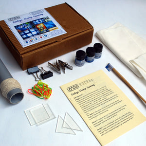Indigo Clamp Dyeing DIY Kit
