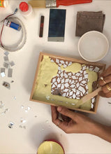 Load image into Gallery viewer, Mosaic Art Tray DIY kit