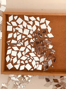 Mosaic Art Tray DIY kit