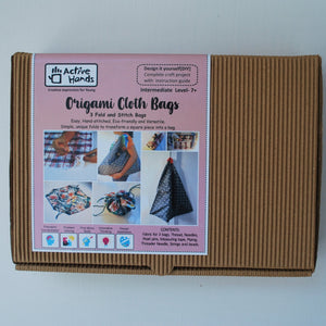 Origami Cloth Bags DIY Kit