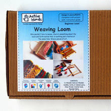 Load image into Gallery viewer, Weaving Loom Fibre to Fabric Craft Design DIY Kit