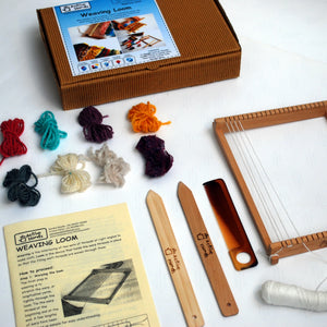 Weaving Loom Fibre to Fabric Craft Design DIY Kit