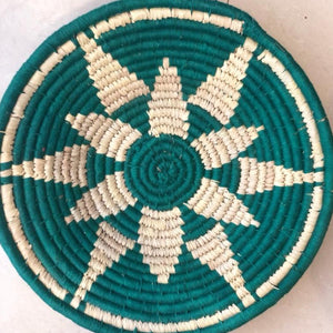 Green Star Handwoven Sabai Grass Basket