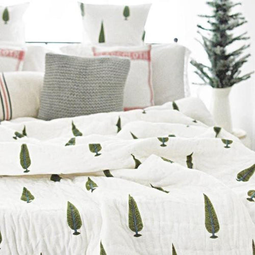 Gulmohar Double Bed Quilt Set