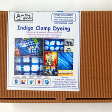 Load image into Gallery viewer, Indigo Clamp Dyeing DIY Kit