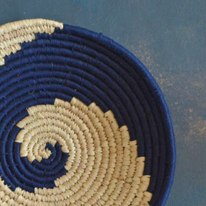 Nila Abstract Sabai Seagrass Handwoven Grass Basket