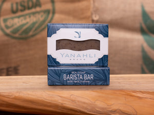 Barista Bar with Cinnamon and Tennessee Coffee | Yanahli Essential Oil Soap