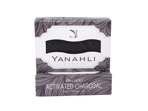 Activated Charcoal with Organic Hemp Seed Oil | Yanahli Essential Oil Soap