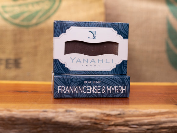 Frankincense & Myrrh | Yanahli Essential Oil Soap