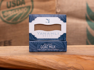 Goat Milk with Tennessee Honey & Oatmeal | Yanahli Essential Oil Soap