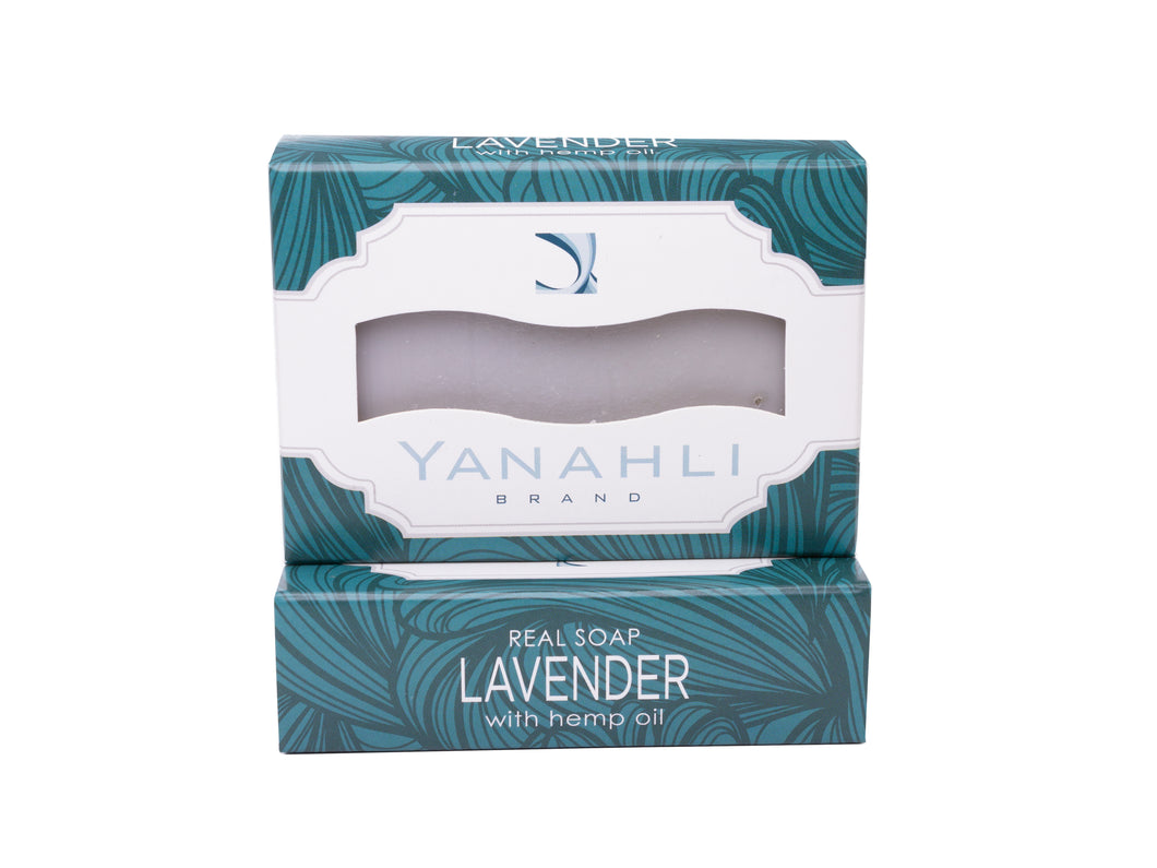 Lavender Castile with Organic Hemp Seed Oil | Yanahli Essential Oil Soap