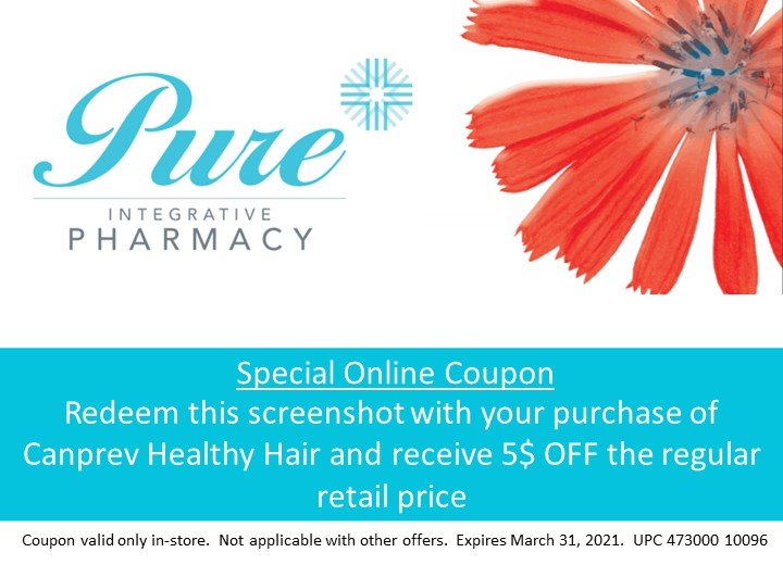Canprev Healthy Hair 5$ off coupon for in-store only (expires march 31 2021)