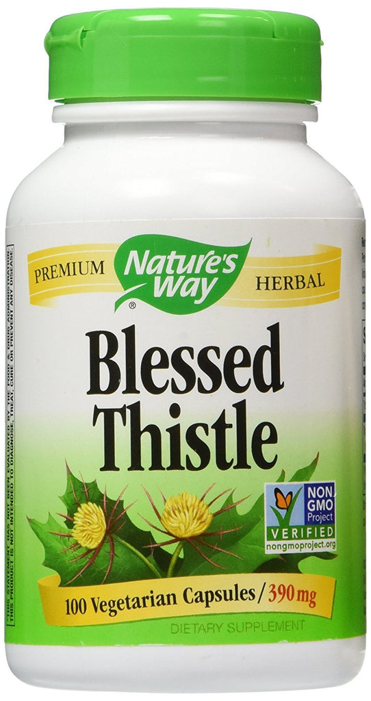 NATURE'S WAY BLESSED THISTLE 100VCAPS