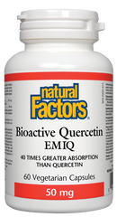 NATURAL FACTORS BIOACTIVE QUERCETIN EMIQ 60VCAPS