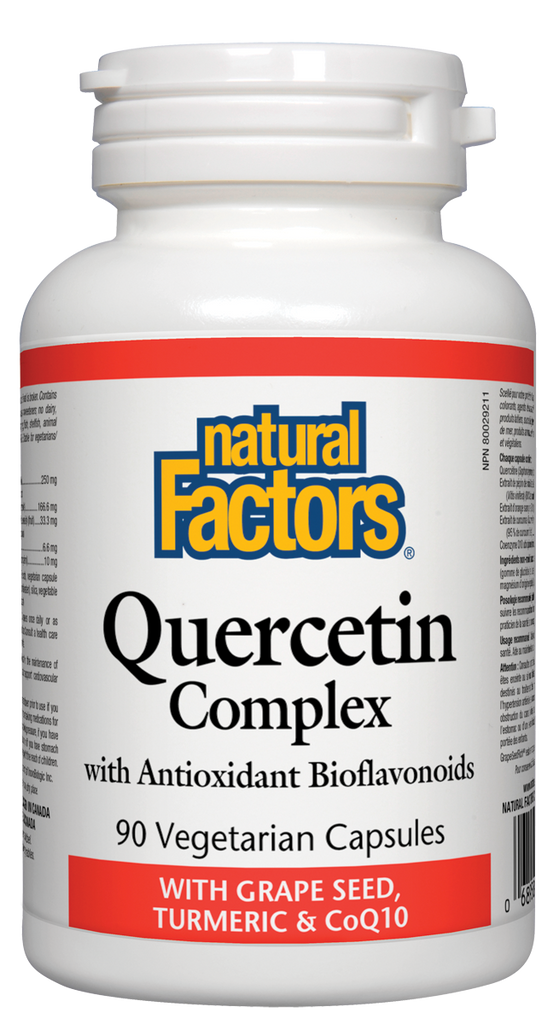 NATURAL FACTORS QUERCETIN COMPLEX 90VCAPS